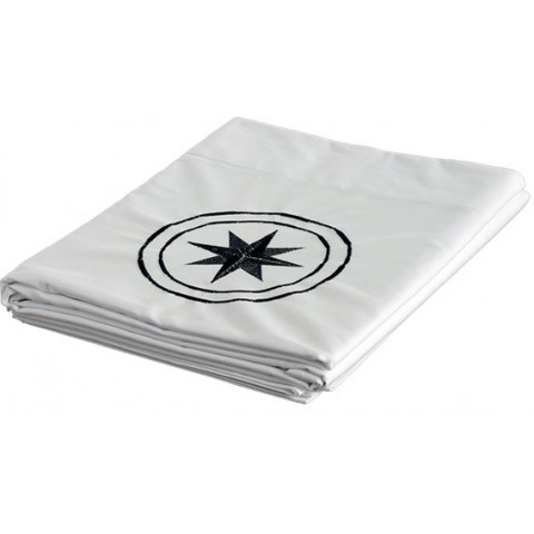 FREE STYLE Single White Top Sheet and Pillow Case