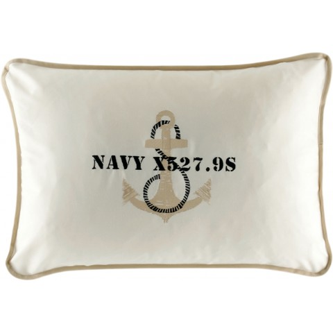 ANCHOR Beige Cushion Covers - Set of 2