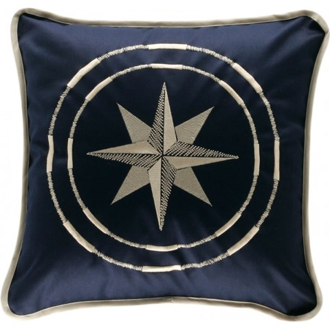 CLASSIC Navy Blue Cushion Covers - Set of 2