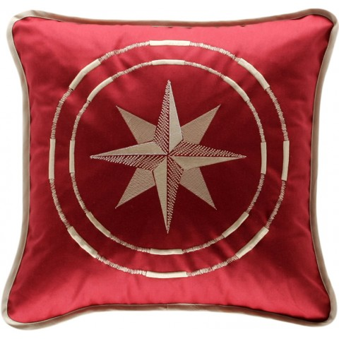 CLASSIC Dark Red Cushion Covers - Set of 2
