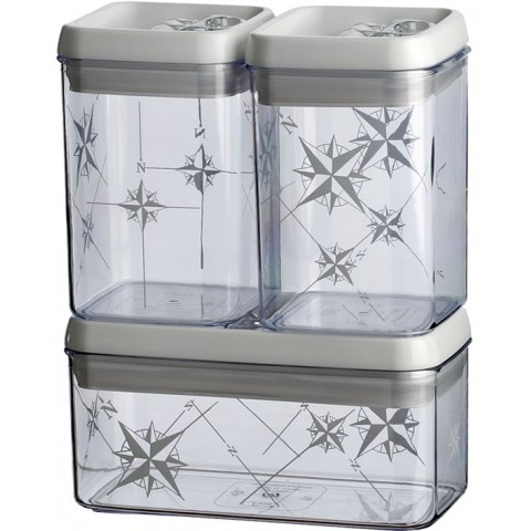 Kitchen Jar Set Rectangular