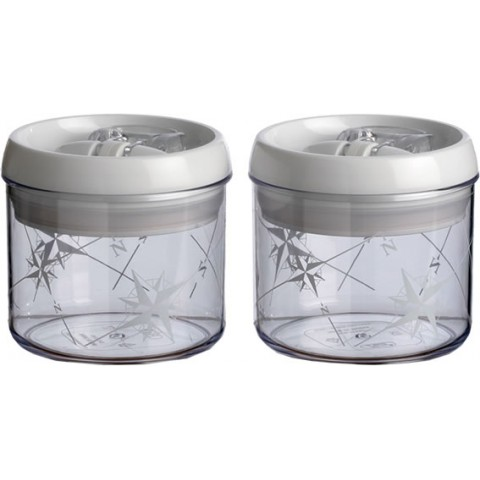 Kitchen Jar Set Round