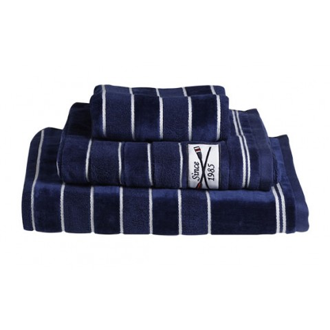 SPIRIT Navy Towel Set - 3 Pcs