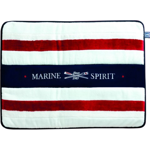 SPIRIT Red Terry Bath Mat