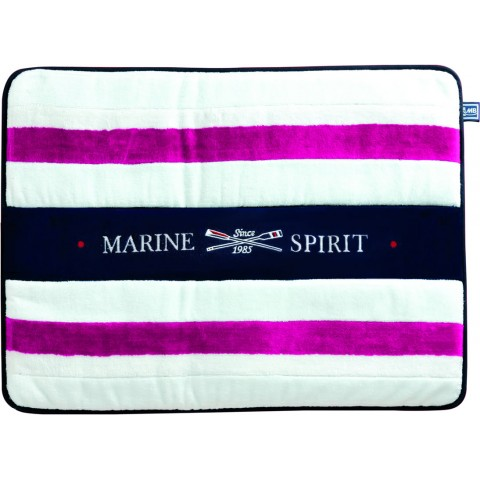 SPIRIT Fuchsia Terry Bath Mat