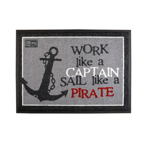 PIRATE Non-Slip Mat - Set of 2