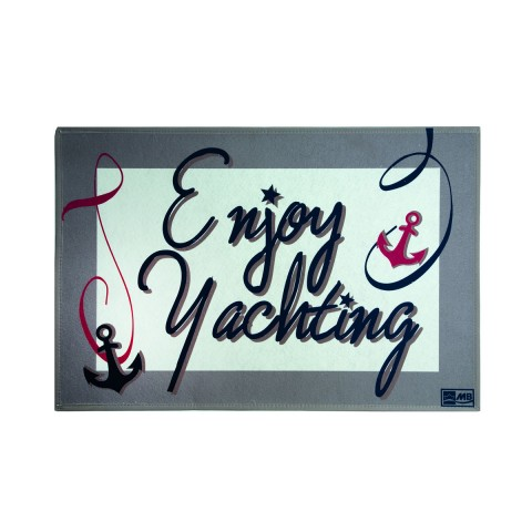 ENJOY YACHTING Non-Slip Mat - Set of 2