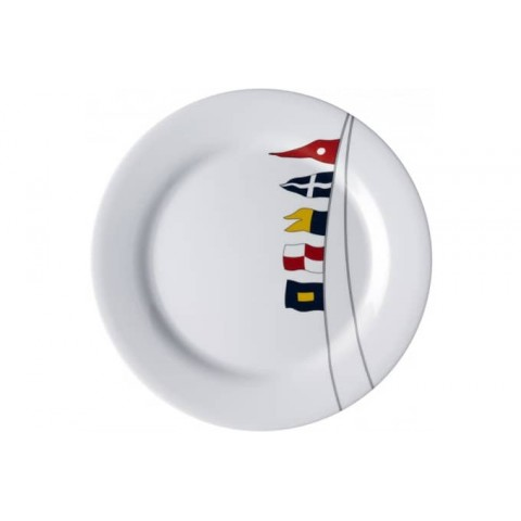 Regata Non-Slip Dinner Plate - Set of 6