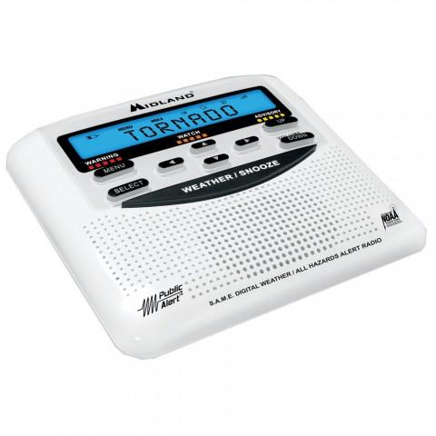 Midland Wr 120 Weather Alert Trillingual W Alarm Clock