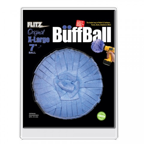 Flitz Buff Ball X Large Blue 7 Diameter