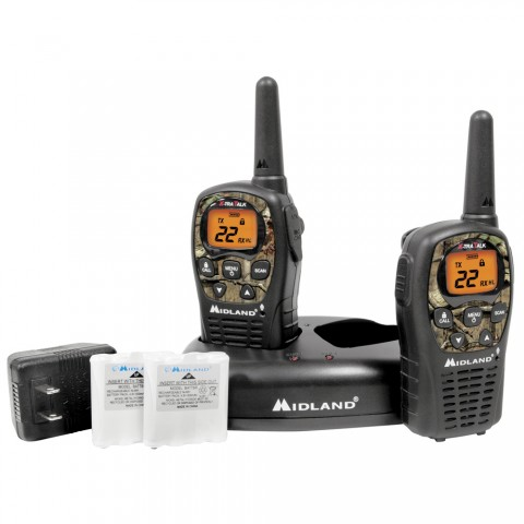 Midland Lxt535Vp3 22 Channel 24 Mile Camo Two Way Radios