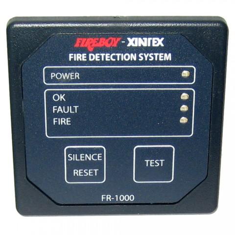 Xintex 1 Zone Fire Detection Alarm Panel 2 5 8 Square