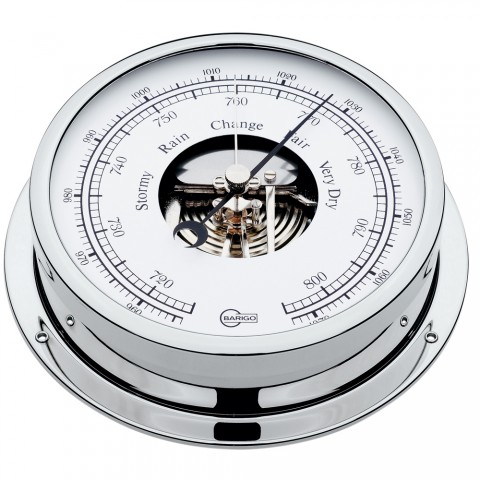 Barigo Barometer 5 Dial Chrome Housing Viking Series