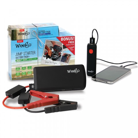 Weego Js12 Holiday Pack With Bonus Battery Pack