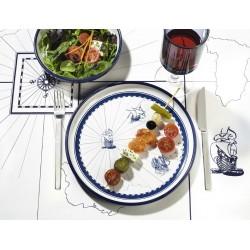 Columbus Dinner Plate - Set of 6