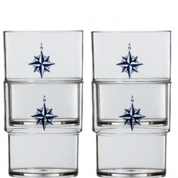 NorthWind Stack-able Glasses - Set of 12