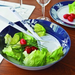 NorthWind Salad Bowl with Serve Cutlery