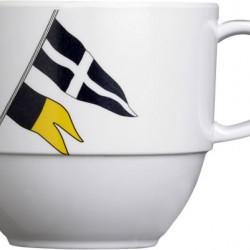 Regata Tea Cup and Saucer - Set of 6