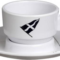 Regata Espresso Cup and Saucer - Set of 6