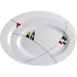 Regata Oval Serving Platters - Set of 2