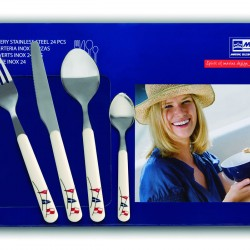 Regata 6 People Cutlery Set - 24 Pcs
