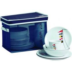 Regata Tableware Pack - 24 Pcs