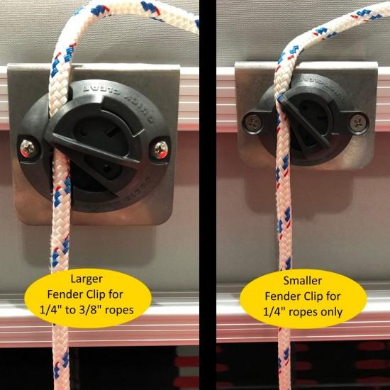 Fender Clip For Pontoon Boat (Set of 2)