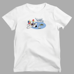 Mens Chicago Air Show Ultra Soft Tee Shirt