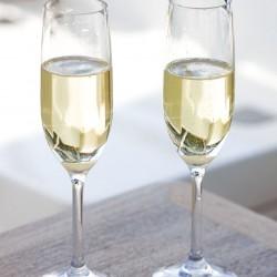 CLEAR Non-Slip Champagne Flute - Set of 6 - Tritan