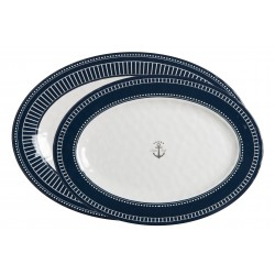 Sailor Soul Oval Serving Plates - Melamine