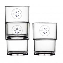 Sailor Soul Stackable Glasses - Set of 12 - MS