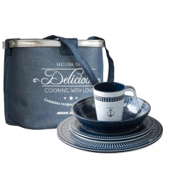 Sailor Soul Tableware Set - 24 Pcs - Melamine