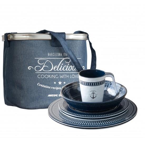 Sailor Soul Tableware Set - 24 Pcs - Melamine