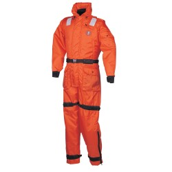 Mustang Deluxe Anti-Exposure Coverall & Worksuit - LG - Orange