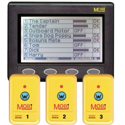 Clipper MOBi Man Overboard Indicator w/3 Fobs