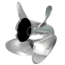 Turning Point Express® EX-1417-4L Stainless Steel Left-Hand Propeller - 14.5 x 17 - 4-Blade