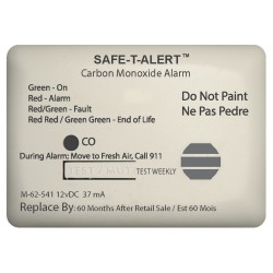 Safe-T-Alert 62 Series Carbon Monoxide Alarm - 12V - 62-541-Marine Surface Mount - White