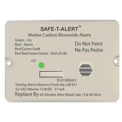 Safe-T-Alert 62 Series Carbon Monoxide Alarm w/Relay - 12V - 62-542-Marine-RLY-NC - Flush Mount - White