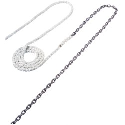 "Maxwell Anchor Rode - 15\\'-5/16"" Chain to 150\\\'-5/8"" Nylon Brait"