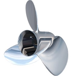 "Turning Point Express® Mach3 OS Left Hand Stainless Steel Propeller - OS-1617-L - 15.6"" x 17"" - 3-Blade"