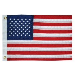 """Taylor Made 12"""" x 18"""" Deluxe Sewn 50 Star Flag"""