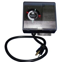 Ice Eater by Power House P1101 Timer - 2 On/Off Settings Per Day w/2 Set Trippers -120V - 60Hz