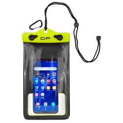"Dry Pak Smart Phone/GPS/MP3 Case - Lemon Lime - 5"" x 8"""