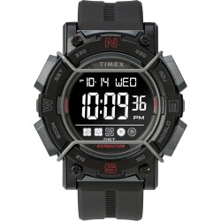 Timex Expedition Digital Face 47mm - Black Screen w/Black Resin Strap