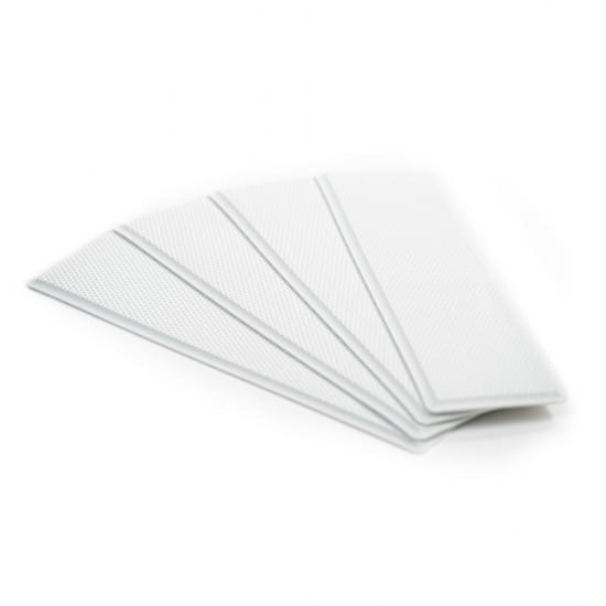 """SeaDek Embossed 5mm 4-Piece Step Kit - 3.75"""" x 12.75"""" - White"""