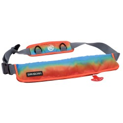 Bombora 16oz Inflatable Belt Pack - Sunrise