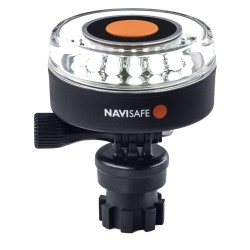 Navisafe Navilight All-White 5 Mode 360° 2NM w/Navimount Base